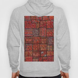 V5 Red Traditional Moroccan Design - A3 Hoody