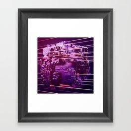 Laser Floyd Night on Cube World (01/28/17) Framed Art Print