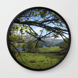 White Moss 2 Wall Clock