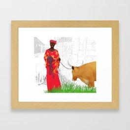 Diakha Medina Framed Art Print