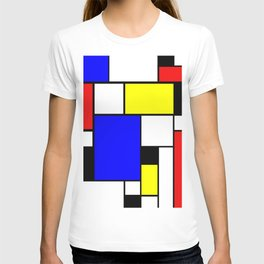Colored Squares Art T-shirt