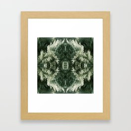 Into the Desert Framed Art Print