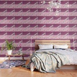 Pink Stairway Wallpaper