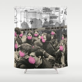Quarantine Shower Curtain