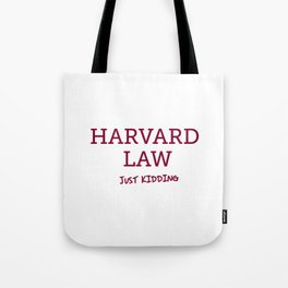 Harvard Law Tote Bag