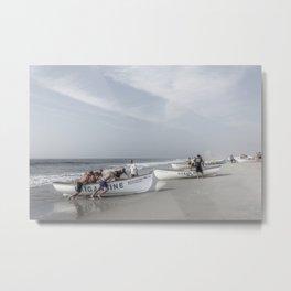 Beach Patrol, Jersey Shore Metal Print
