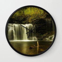 Autumn Secrets Wall Clock