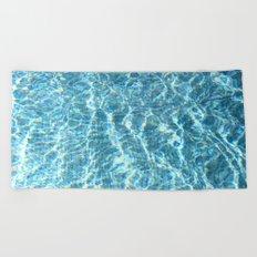 Swimmingpool #2 Beach Towel