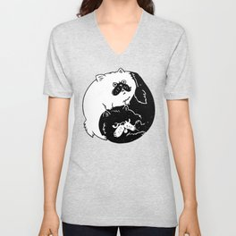 The Tao of Cats Unisex V-Neck