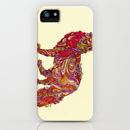 Fox by Day iPhone Case