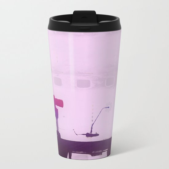 Audio, Video, and Everything in Between Metal Travel Mug