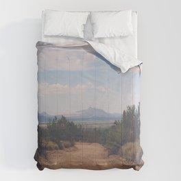 Down Desert Roads Comforters