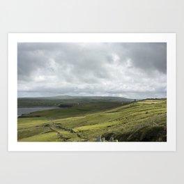 Ireland's Countryside Art Print