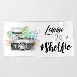 Lemme Take a #Shelfie Beach Towel