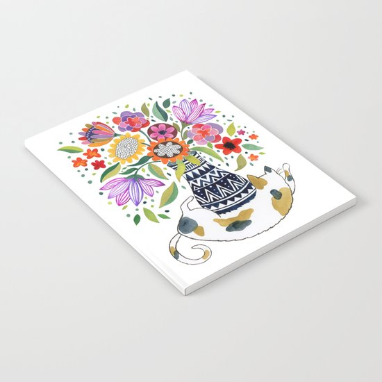 Calico Bouquet Notebook