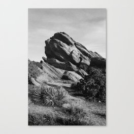 Vasquez Rocks Canvas Print