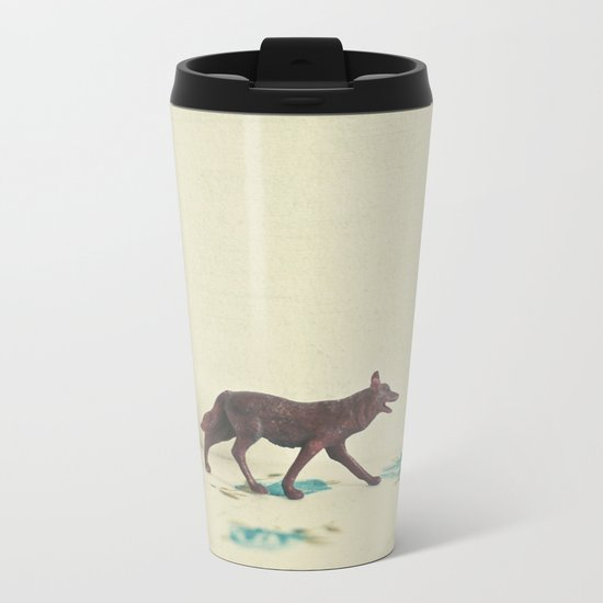 Wandering Wolf Metal Travel Mug