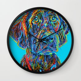Waiting For You #2 Wall Clock