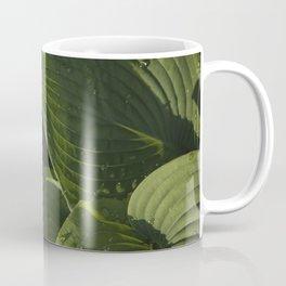 Hosta After a Rain Coffee Mug