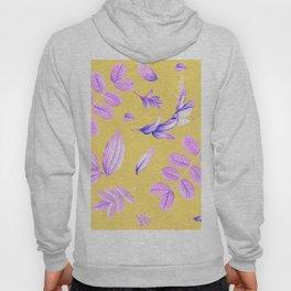 Purple Leafs Hoody