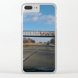 Railway Bridge Clear iPhone Case