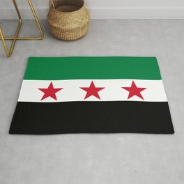 Independence Flag of Syrian Rug