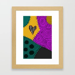 Sally - Nightmare Before Christmas Framed Art Print