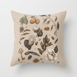 Georgia Nature Walks Throw Pillow
