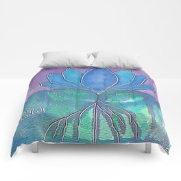Stay Grounded Comforters
