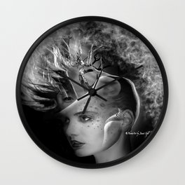 Inner Self Wall Clock