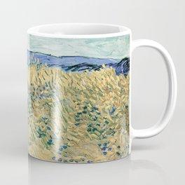 Wheatfield with Cornflowers by Vincent van Gogh Coffee Mug