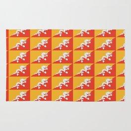 flag of bhutan 2-Bhutan, Himalaya, South Asia,Bhutanese, bhoutan, bhoutanais Rug