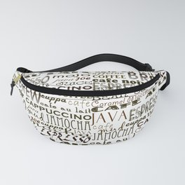 Coffee - In So Many Words Fanny Pack