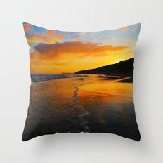 Seaside Dawn Throw Pillow