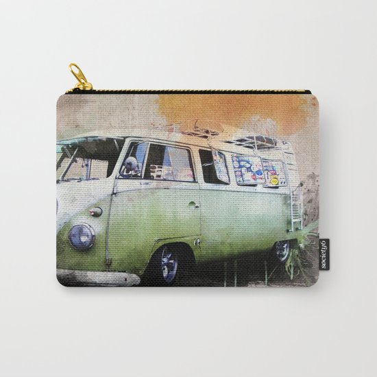 vintage volkswagen Carry-All Pouch