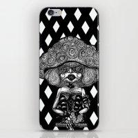 mushroom iPhone & iPod Skins featuring Mushroom by AKIKO