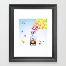 vector artwork Framed Art Print
