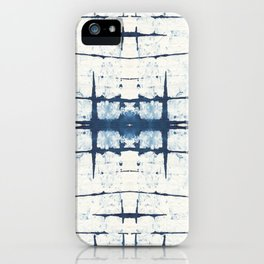 Faded Japanese Shibori iPhone Case