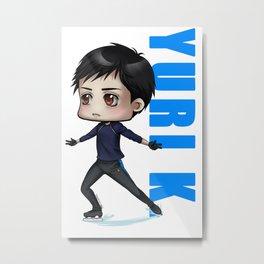 Yuri K. Metal Print