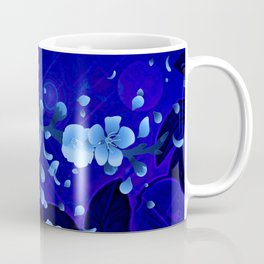 Cherry blossom, blue colors Coffee Mug