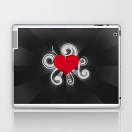 Illuminated Heart Laptop & iPad Skin