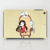 princess iPad Cases featuring Princess by Freeminds