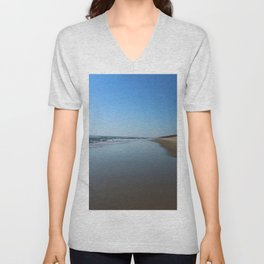 Longing For This Beach Unisex V-Neck