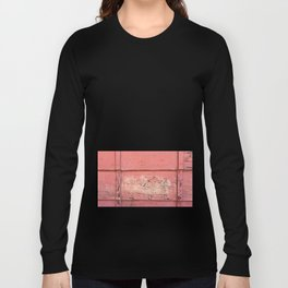 Weathered Red Siding Long Sleeve T-shirt