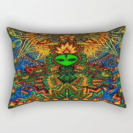 How Do You Like It Here? Rectangular Pillow