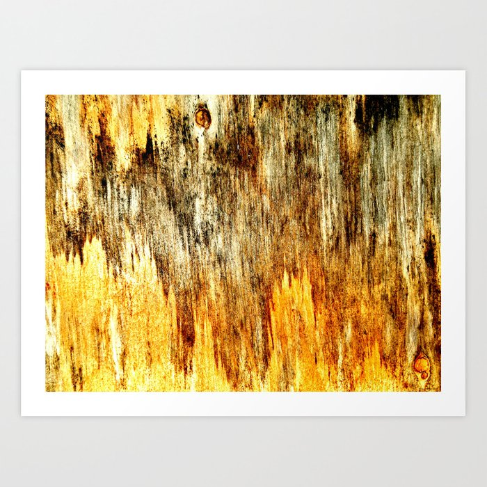 """Wood Panel"" Art Print"
