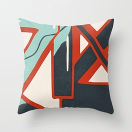 In the street No1 Throw Pillow