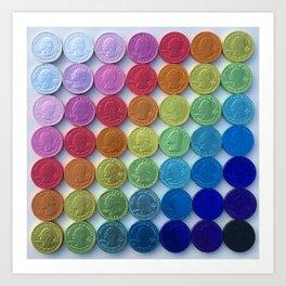 Change-ing Color Art Print