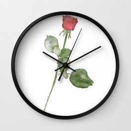 A Rose for Shannon Wall Clock
