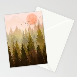 Hill Morning Stationery Cards